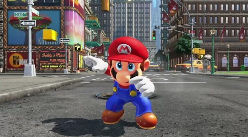Cena de Super Mario Odyssey (Foto: Reprodução/Youtube)