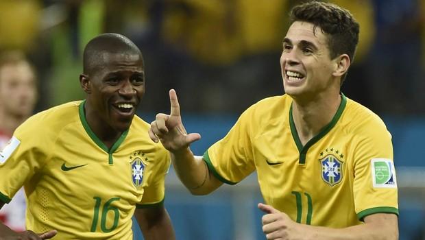 Brasil vence a Croácia de virada em jogo com gol contra e pênalti polêmico (Odd Andersen/AFP)