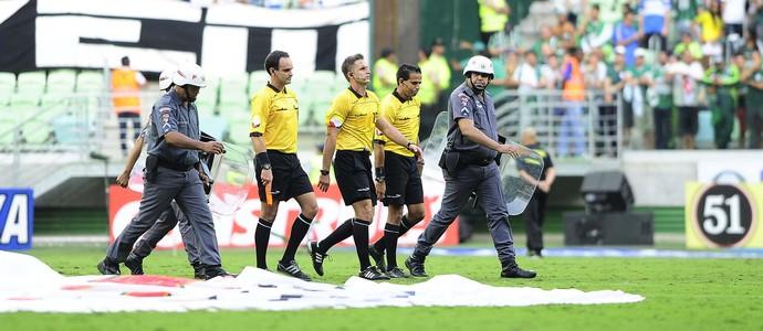 Palmeiras x Santos Final Arbitragem (Foto: Marcos Ribolli)