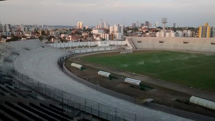 Estádio Amigão, Campina Grande (Foto: Expedito Madruga (GloboEsporte.com/pb))