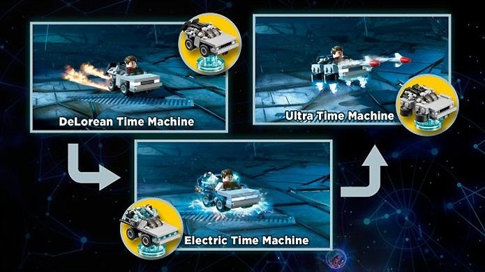 Em LEGO Dimensions você poderá remontar seus veículos para obter diferentes funções (Foto: Reprodução/Gameinformer)