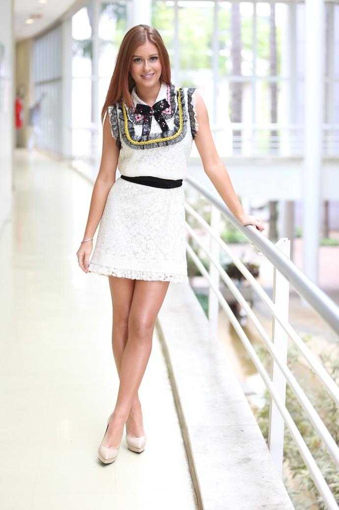 Marina Ruy Barbosa mostra mais um look bafônico (Foto: Carol Caminha/Gshow)