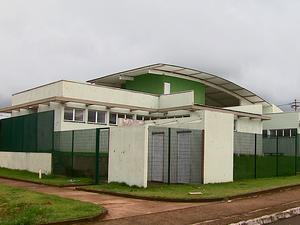Unidade de Saúde da Família no bairro Zavaglia (Foto: Reginaldo dos Santos/EPTV)