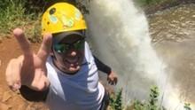 Confira Mário em um desafio na cachoeira e um papo com Lima Duarte ( mario)