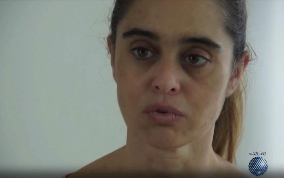 Médica Kátia Vargas é suspeita de ter provocado acidente que matou irmãos (Foto: Reprodução/TV Bahia)