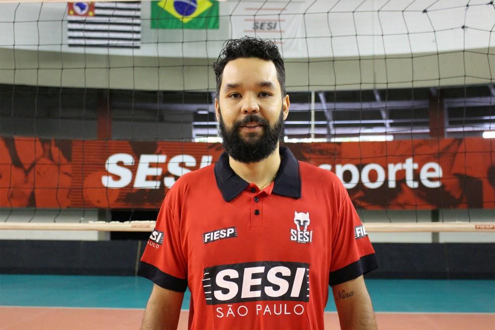 William Arjona é reforço do Sesi-SP para a temporada 2017/18 (Foto: Divulgação/Sesi-SP)
