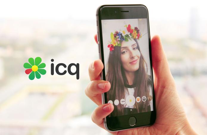 ICQ ganha Masks, função similar ao Snapchat (Foto: Divulgação/ICQ)