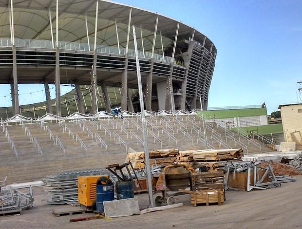 arena fonte nova (Foto: Eric Luis Carvalho)