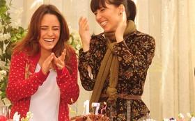 'O verdadeiro par romântico da novela somos nós', brincam Fernanda e Marjorie