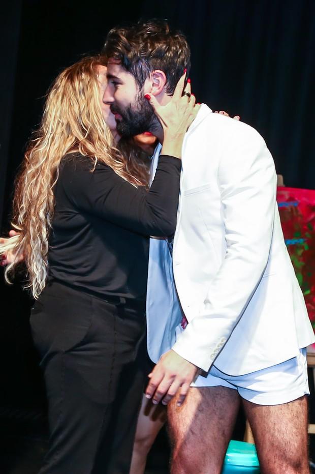 Suzana Vieira e Sandro Pedroso (Foto: Cláudio Augusto/Photo Rio News)