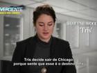 Shailene Woodley e Theo James falam sobre 'Convergente'; VÍDEO