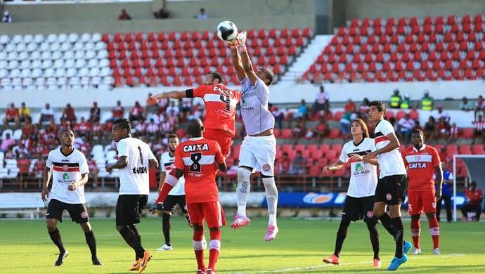 CRB x Santa Rita, jogo (Foto: Ailton Cruz/Gazeta de Alagoas)