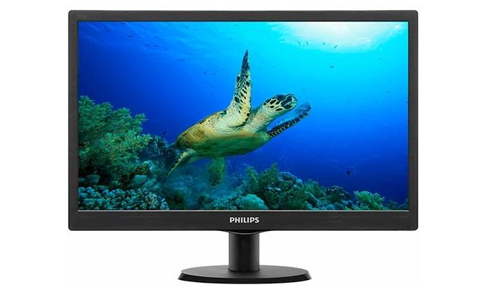 Monitor Phillips 193V5LHSB2, de 18,5 polegadas (Foto: Divulgação)