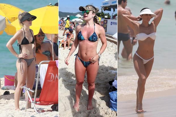 [MODA] LISTA HITS VERAO 2015 - Bianca Bin, MIrella Santos e Deborah Secco - Viseira (Foto: Agnews)