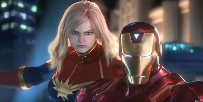 Capitã Marvel e Homem de Ferro estarão em Marvel vs. Capcom Infinite (Foto: Divulgação/Capcom)