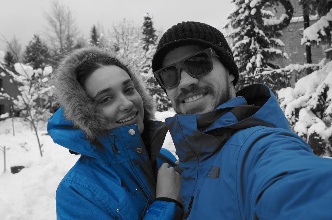 José Loreto e Débora Nascimento, em Toronto (Foto: reprodução/Instagram)