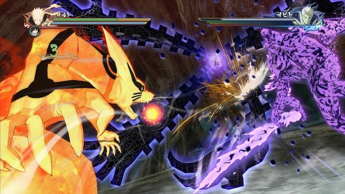 Naruto Shippuden: Ultimate Ninja Storm 4: manter o personagem em movimento é uma necessidade (Foto: Divulgação/Bandai Namco)