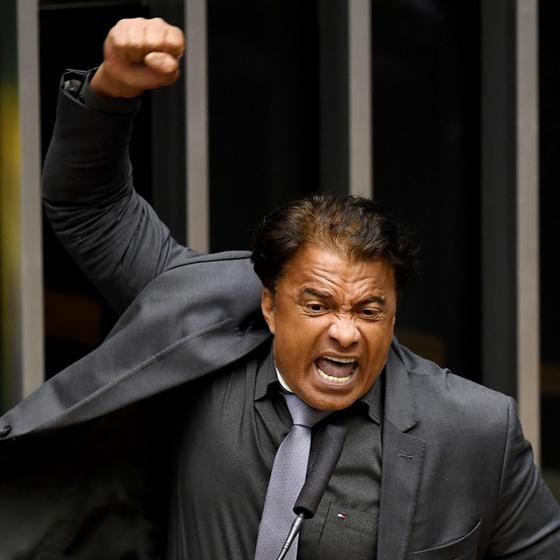 O deputado Wladimir Costa (Foto:  EVARISTO SA/AFP)