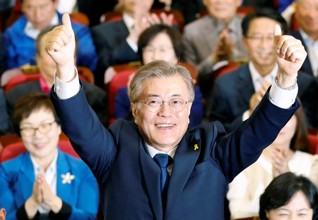 Moon Jae-in (Foto: Kim Hong-Ji/Reuters)