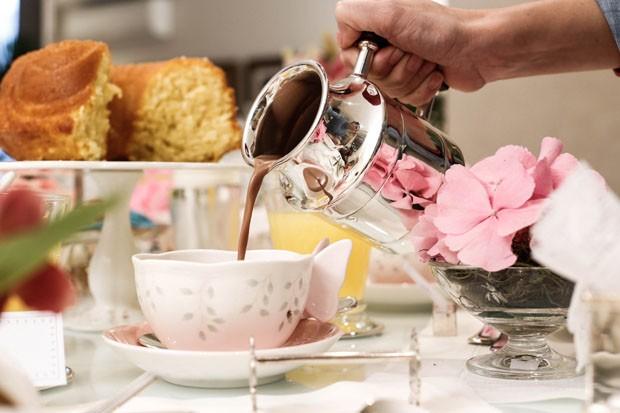 Chá da tarde só para meninas (Foto: Michelle Moll / Divulgação)