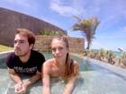 Olin Batista reata namoro com Jéssica Günter: 'A gente sempre se gostou'