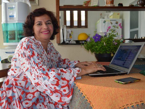 Sônia quer ser diferencial nessas eleições (Foto: Daniel Soares/G1)
