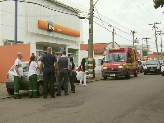 Sargento aposentado da Polícia Militar é baleado em saidinha de banco em Campinas (Foto: Reprodução EPTV)