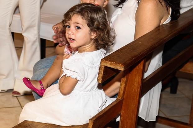 Batizado da filha de Pedro Leonardo, Maria Sophia (Foto: Manuela Scarpa/Foto Rio News)