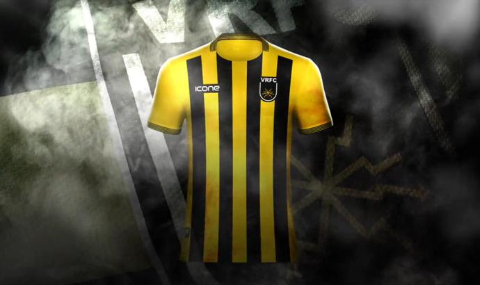 Volta Redonda usará esta camisa nos compromissos em 2017 (Foto: Divulgação/Icone Sports)