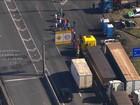 Representantes de caminhoneiros relatam ameaças aos que tentam sair