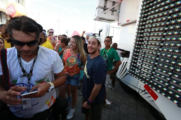 Leonardo Miggiorin em Salvador  (Foto: Wallace Barbosa e Dilson Silva /AgNews)