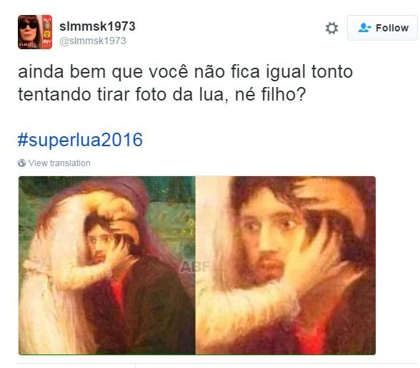 meme superlua 11 (Foto: Reprodução/Twitter)