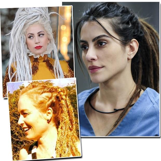 Lady Gaga, Angélica e Cléo Pires (Foto: Reprodução / Instagram)