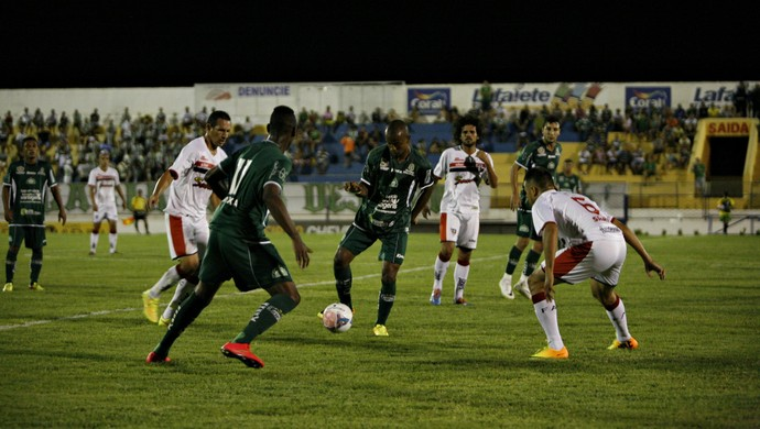 Com gol de Danilo Cintra, Icasa bate Ferrão em semi da Taça Fares Lopes (Foto: Cicero Valério / Agência Miséria )