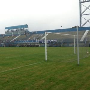 Estádio da Colina São Raimundo e Fast (Foto: Marcos Dantas)