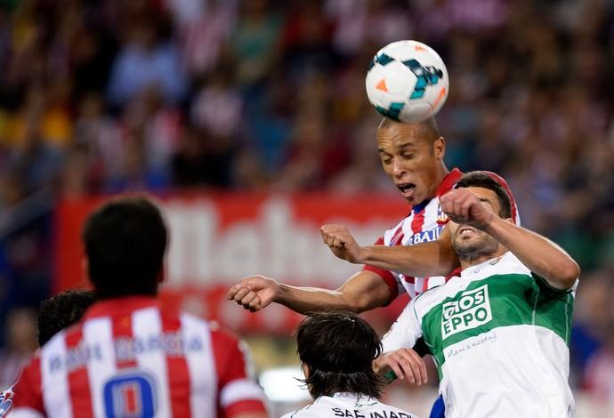 Miranda Atlético de Madri x Elche (Foto: AFP)