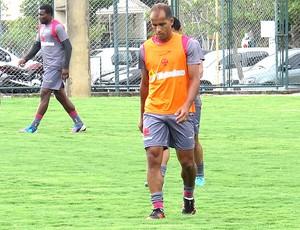 Felipe no treino do Vasco (Foto: André Casado / Globoesporte.com)
