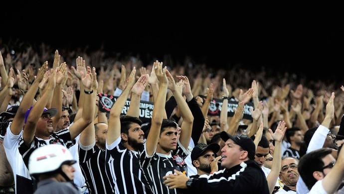 Torcida do Corinthians x São Paulo, Libertadores (Foto: Marcos Ribolli)