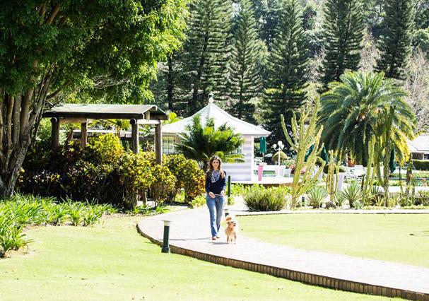 Unique Garden Spa, em Mairiporã (Foto: Divulgação)