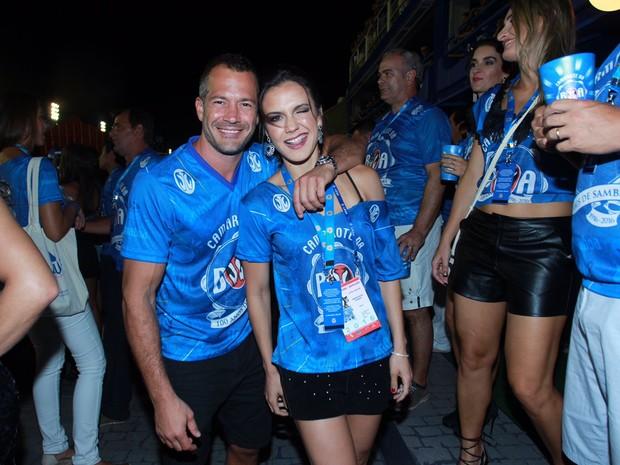 Malvino Salvador e Kyra (Foto: Marcello Sá Barretto / AgNews)