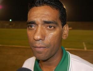 Warison Albuquerque, técnico do Leonel (Foto: Silas Batista / GloboEsporte.com)