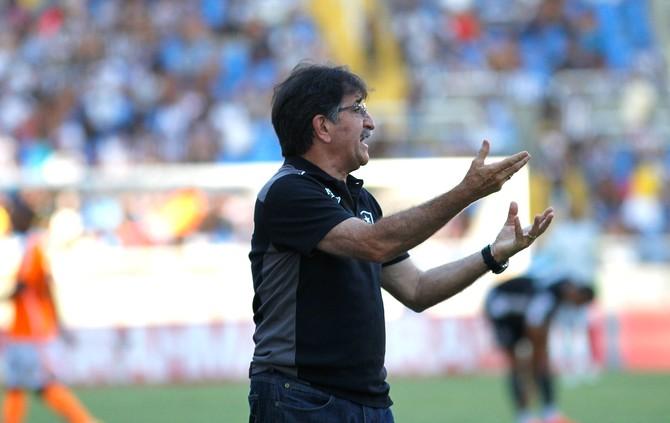 René Simões, Botafogo X Nova Iguaçu (Foto: Vitor Silva / SSpress)