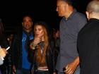 Presença de Lindsay Lohan e confusão marcam 1º dia de Lollapalloza