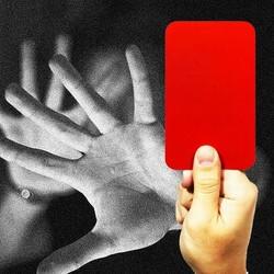 Cartão vermelho para a violência (Foto: Arte: Antônio Lucena)