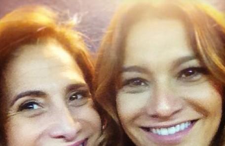 Dira Paes e Totia Meirelles, a Wanda de 'Salve Jorge': 'Só love, só love', disse a intérprete de Lucimar Reprodução