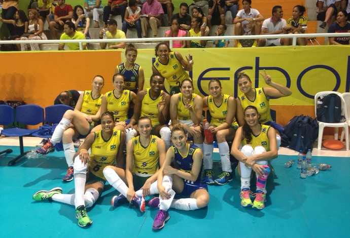 Brasil vôlei Sul-Americano (Foto: Divulgação / CBV)