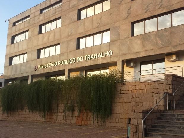 A sede do Ministério Público do Trabalho, em Campinas  (Foto: Fernando Pacífico / G1 Campinas)