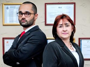 Para os advogados Adriano e Débora, o pedido de iintimação por aplicativo agilizou andamento de processo trabalhista (Foto: R&A Foto Vídeo Comunicação Visual)