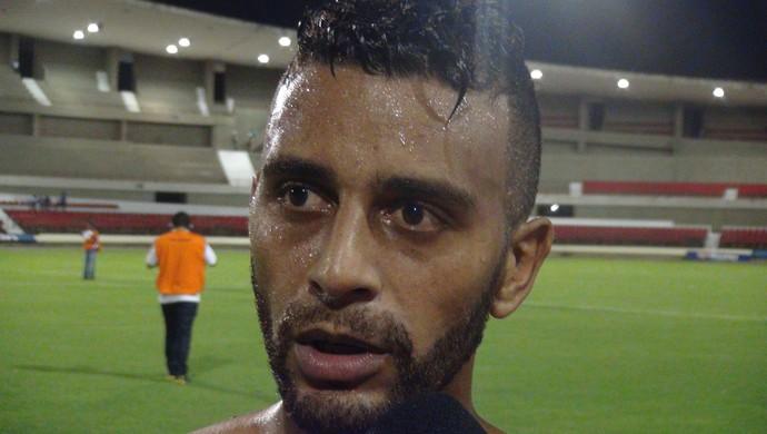 Rafael Granja comemora gols, mas destaca vitória (Foto: Denison Roma / GloboEsporte.com)