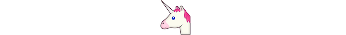 Emoji de unicórnio (Foto: Divulgação/Consórcio Unicode)